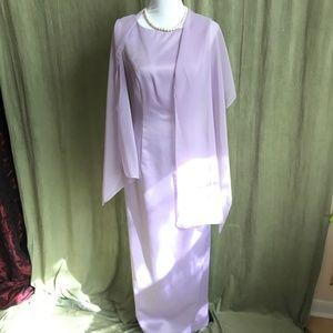 ⭐️ Michaelangelo Prom- Bridesmaid dress w/ scarf